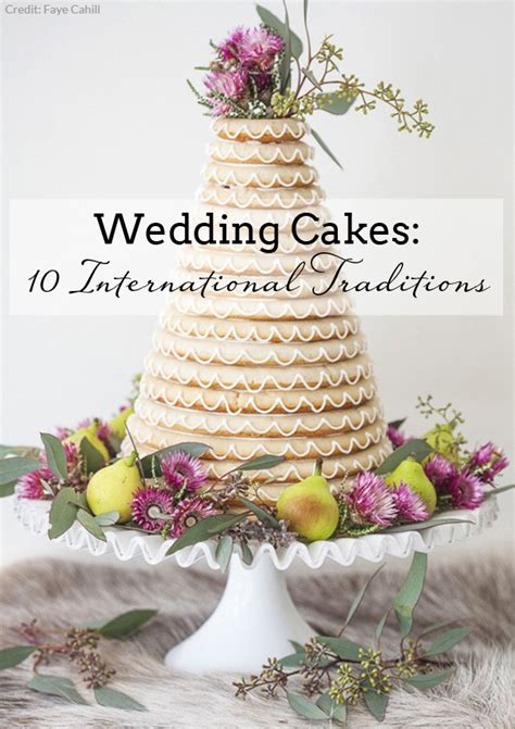 Wedding Cake Traditions by Wedding Cake Alternatives International Traditions