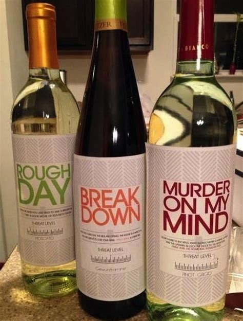 Attractive Christmas Gifts For Business Associates #9: Had-a-rough-day-threat-wine.jpg