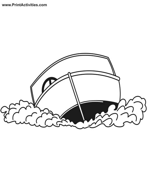 motorboat kitty motor boat coloring pages coloring home