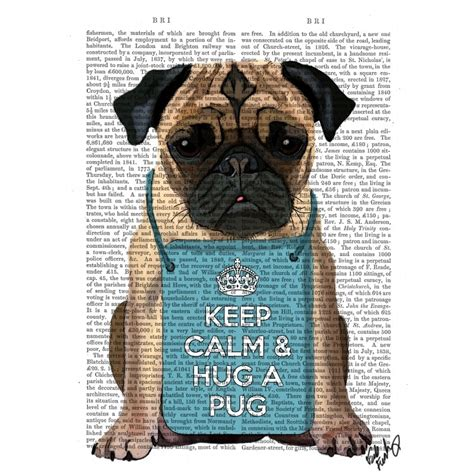 define pug hug a pug dictionary print at accessories for the home