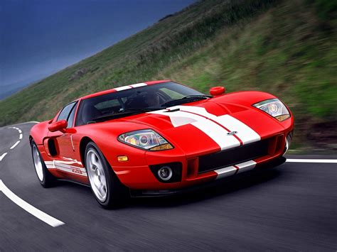 Fast Ford GT Cars Wallpaper · iBackgroundWallpaper