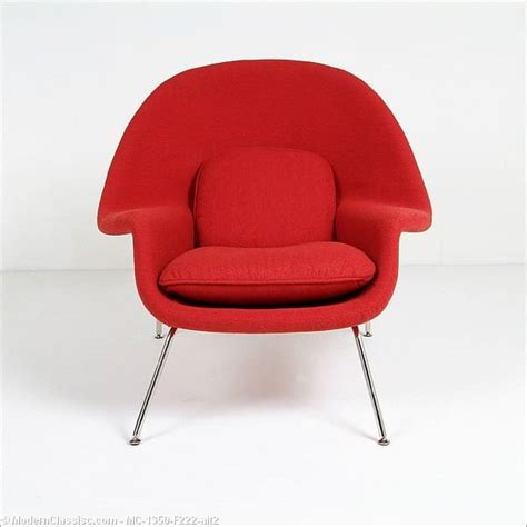 The Womb Chair by Saarinen Womb Chair Modernclassics