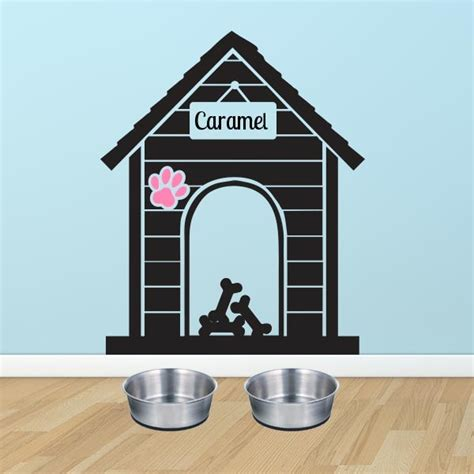 puppy wall decals personalized house wall decal wall decal world
