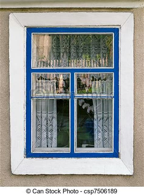 country house windows stock photographs of a country house window an outside view of an old fashion