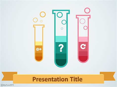 science template powerpoint free science powerpoint