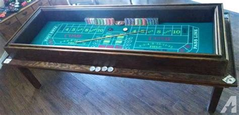 craps table for sale in riverside california