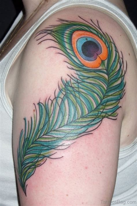 peacock shoulder designs 36 peacock feather tattoos designs and pictures
