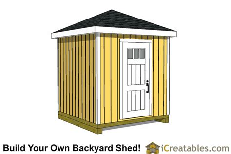 8x16 hip roof shed plans