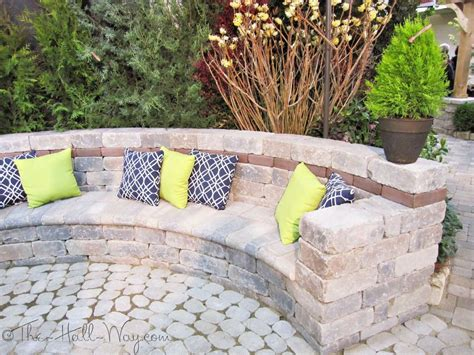 garden retaining wall bench paver bench bench made out of pavers and retaining wall
