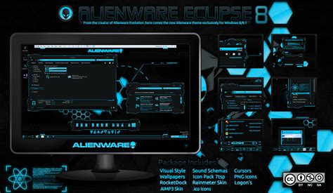 eclipse visual themes alienware eclipse win 8 8 1 update 6 28 2015 by mr blade