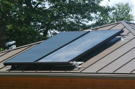 installing steel roofing fine homebuilding standing seam metal roof photos