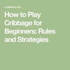 printable instructions on how to play cribbage play cribbage plays to play and rule
