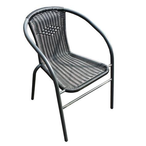 polyrattan stuhl schwarz polyrattan stuhl mardin schwarz outdoor st 252 hle outdoor