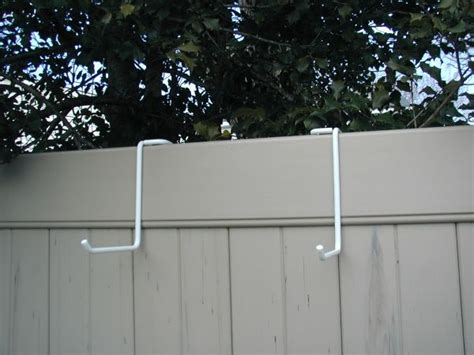 Fence Hangers For Planters pvc fence accessories from pfa industries