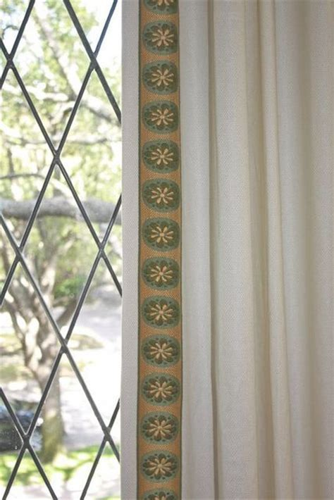 decorative trim for curtains pin by decorative interiors on window treatments pinterest