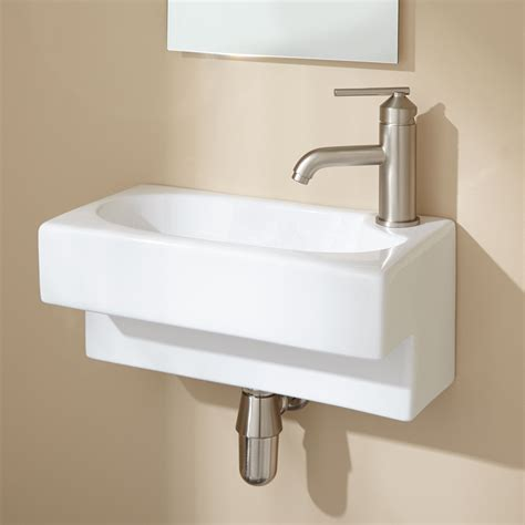wall mounted basin hanser wall mount bathroom