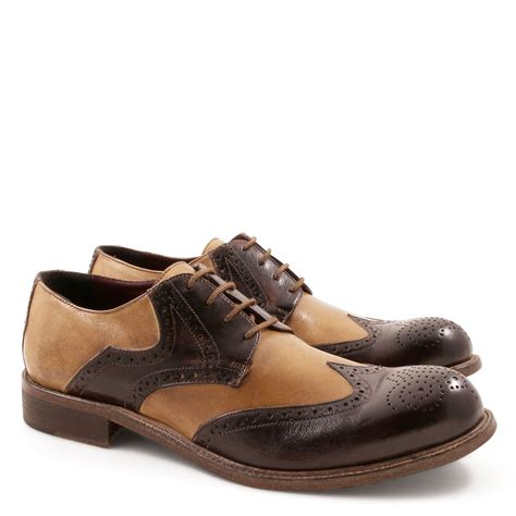 Mens Handmade Brogues - handmade brogue shoes for in italian leather italian