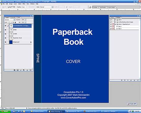 How To Create A Paperback Ebook Cover Using Photoshop Internet Marketing Kultch Free Ebook Cover Templates For Photoshop