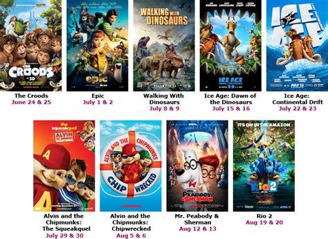 free summer series bow tie cinemas macaroni kid