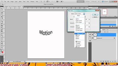 tutorial photoshop warp photoshop cs5 how to warp text tutorial youtube