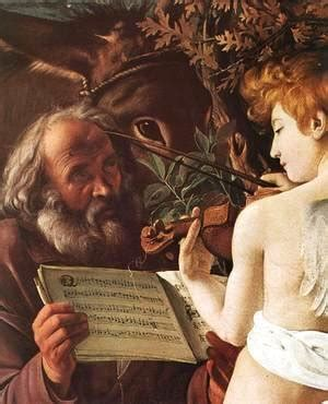 caravaggio the complete works 97 caravaggio the complete works rest on flight to egypt detail 2 1596 97 caravaggio