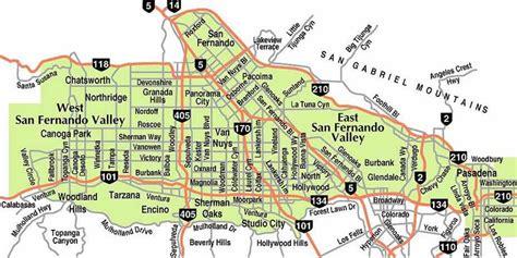 san fernando valley california map geography 7 lab jorge l avitia lab 1 three maps