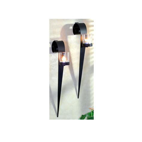 kerzenhalter wand metall wandkerzenhalter 2er set teelichthalter wand kerzenhalter