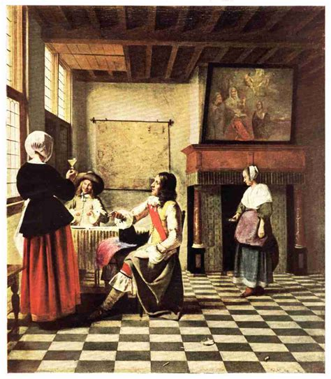 interior of a dutch house six centuries of painting by web art academy