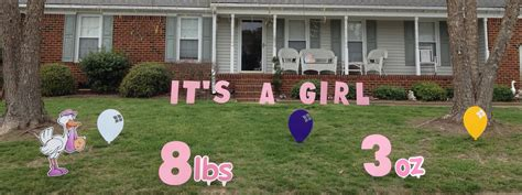 front yard friends va lawn greetings va yard cards virginia birthday signs