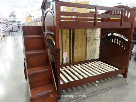 costco bunk bed pulaski manning bunkbed with storage