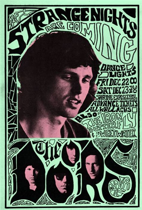 Kaos The Doors Rock Band 104 best concert poster images on gig poster psychedelic posters and rock posters