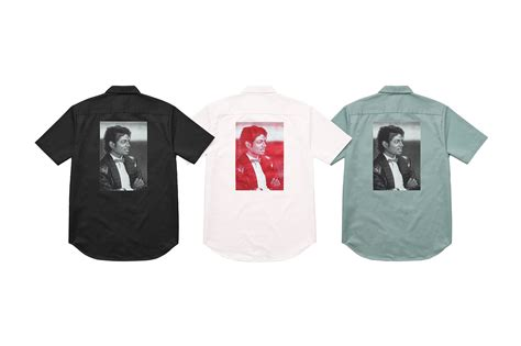 Kaos Supreme King Of king of pop hadir dalam koleksi terbaru supreme ganlob