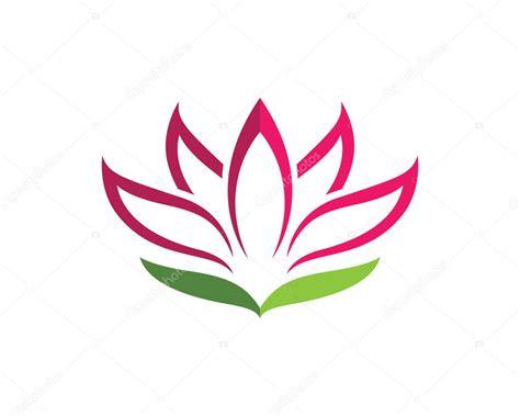 fiore loto stilizzato vettore dell icona fiore di loto stilizzato