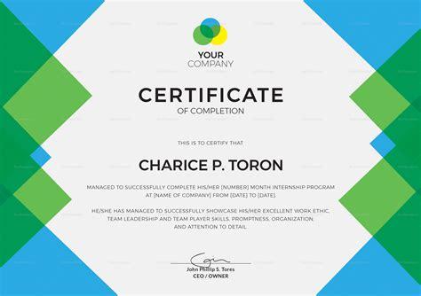 company internship templates company internship certificate design template in psd word publisher illustrator indesign