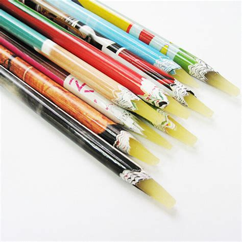 Pencil Picker up pen wax resin rhinestones picker pencil crafts nail size in dotting tools from