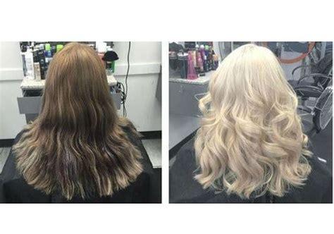 brown hair to blonde hair transformations hair transformations from hair cuttery the official