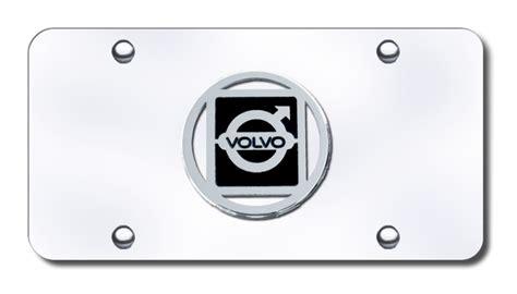 volvo license plates vanity logo tags chrome logo volvo license plates vanity logo tags