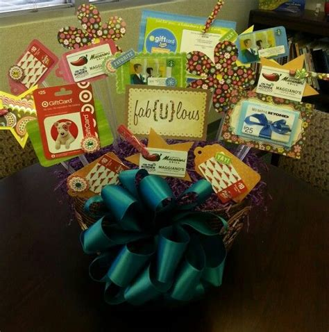 Gift Card Gift Ideas - 17 best ideas about gift card displays on pinterest gift card basket gift card tree