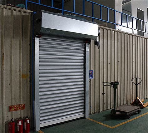 Electric Garage by Electric Roller Garage Doors 304 Stainless Steel Frame