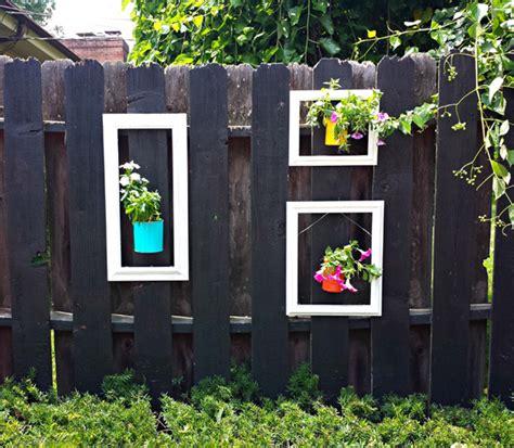 beautiful garden fence decorations home design