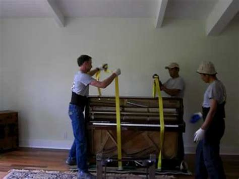 moving a piano youtube