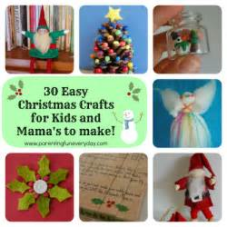 30 easy christmas crafts to make by amber greene