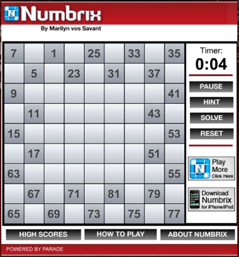 printable numbrix puzzles parade what are your favorite puzzles neogaf