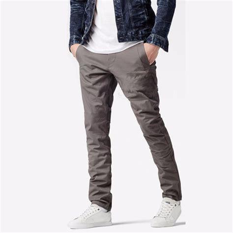celana panjang chino pria grey shopee indonesia