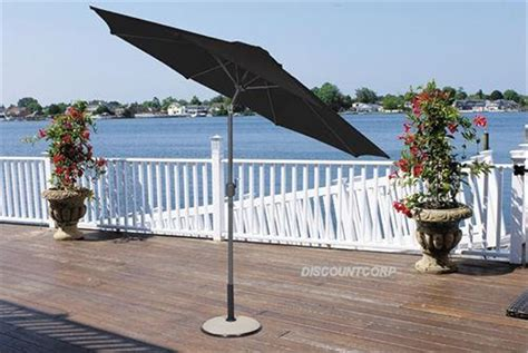 9 Ft Patio Market Umbrella Deluxe Crank Tilt Aluminum Bellezza 169 9 Ft Outdoor Patio Garden Umbrella Aluminum