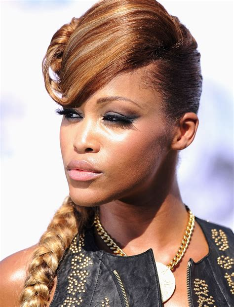rapper celebrity haircuts eve in bet awards 11 arrivals zimbio