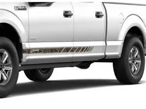 Levittown Ford Parts Ford F 150 Graphics Kit Speed Stripe Kit Mossy Oak Camo