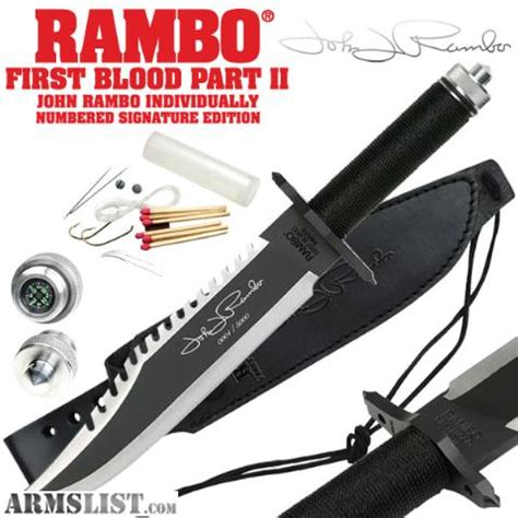armslist for sale signature series rambo knife
