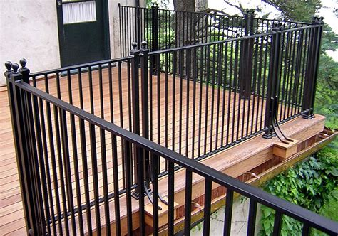 Patio Railing Metal Deck Railing Designs
