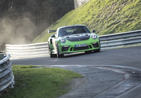 Porsche Nurburgring Times by 2018 Porsche 911 Gt3 Rs Laps Nurburgring In 6 56 4 Video